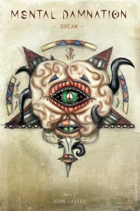 Dream, Part 1 of Mental Damnation Dark Fantasy Novel by Konn Lavery