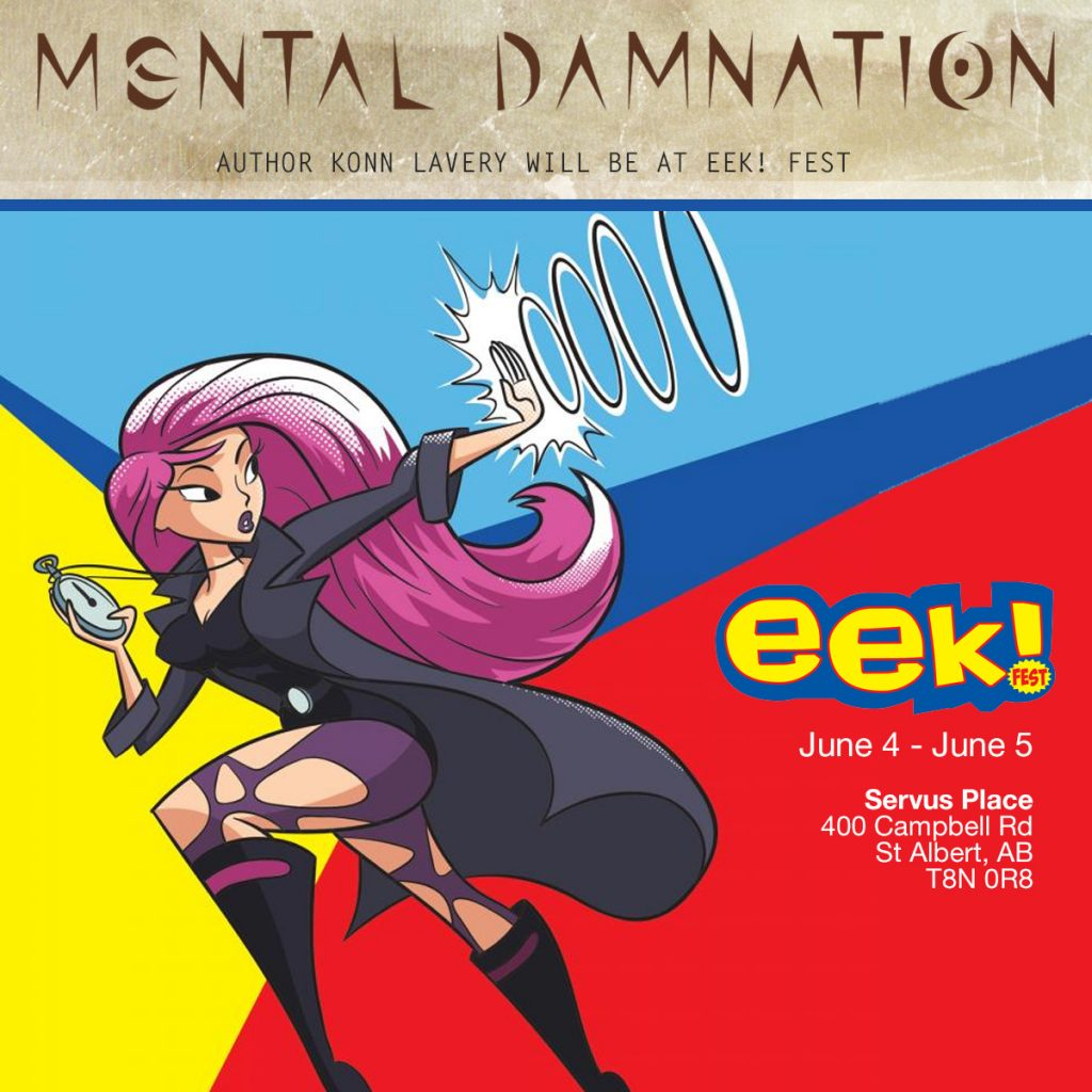 Mental Damnation will be at Eek! Fest 2016