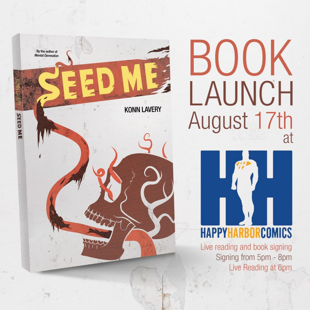 Seed Me Book Launch at Happy Harbor Comics