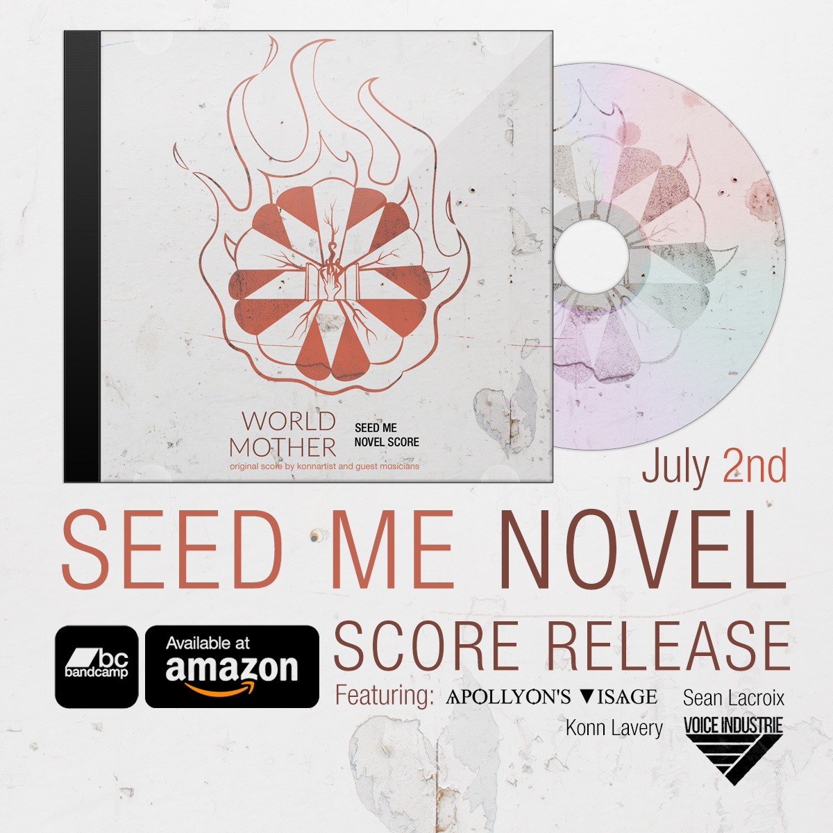 World Mother: Seed Me Novel Score Release