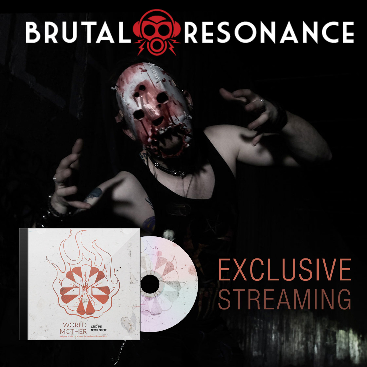 Konnartist Exclusive Streaming on Brutal Resonance