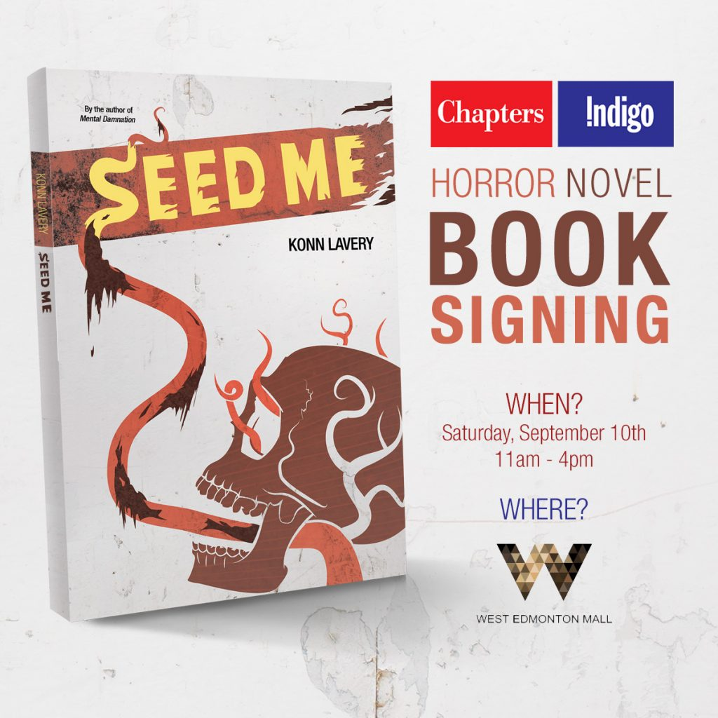 Seed Me West Edmonton Mall Book Signing September 10 2016