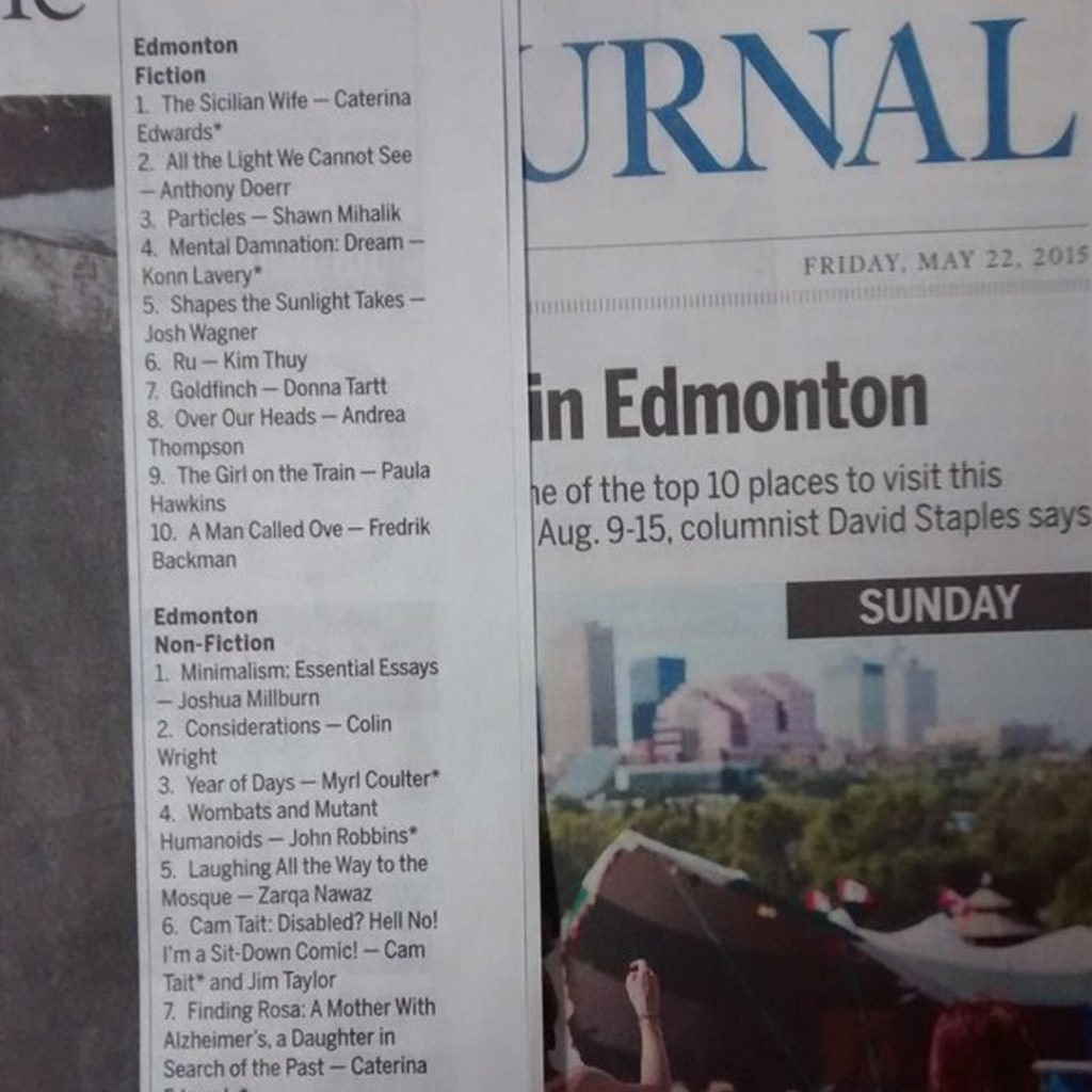 Edmonton Journal Features Dream