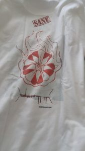 Seed Me T-Shirt by SANE Clothing (Back)