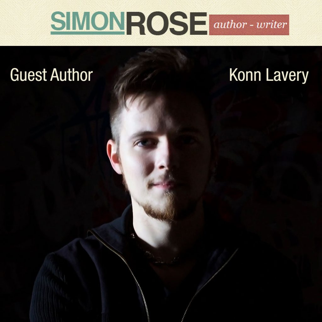 Konn Lavery guest on Simon Rose's site.