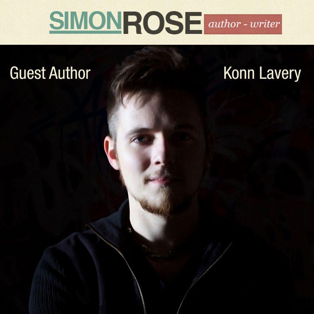 Konn Lavery guest on Simon Rose's site.