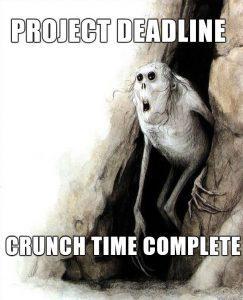 Project Deadline Meme