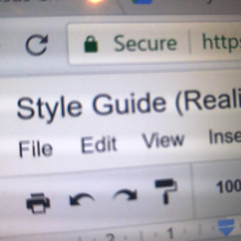 Writing a Style Guide