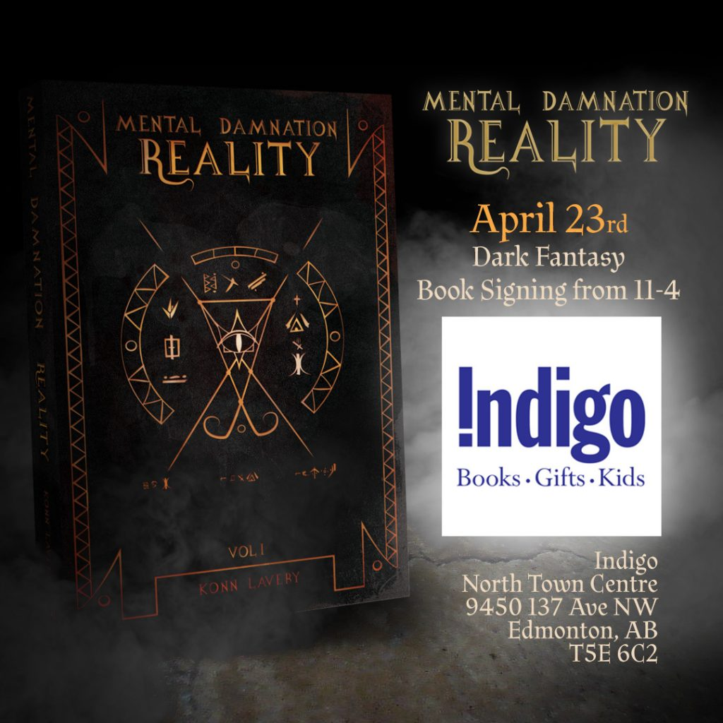 Mental Damnation: Reality Signing at North Town Indigo Edmonton