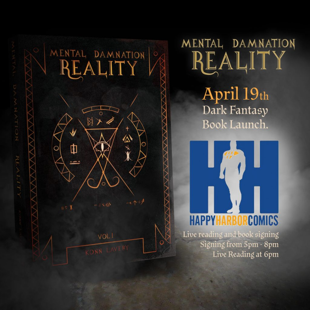 Mental Damnation: Reality Launch at Happy Harbor Comics