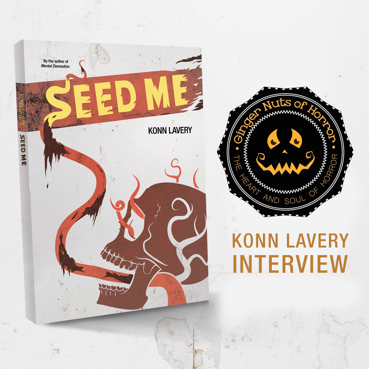 Ginger Nuts of Horror Interview with Konn Lavery