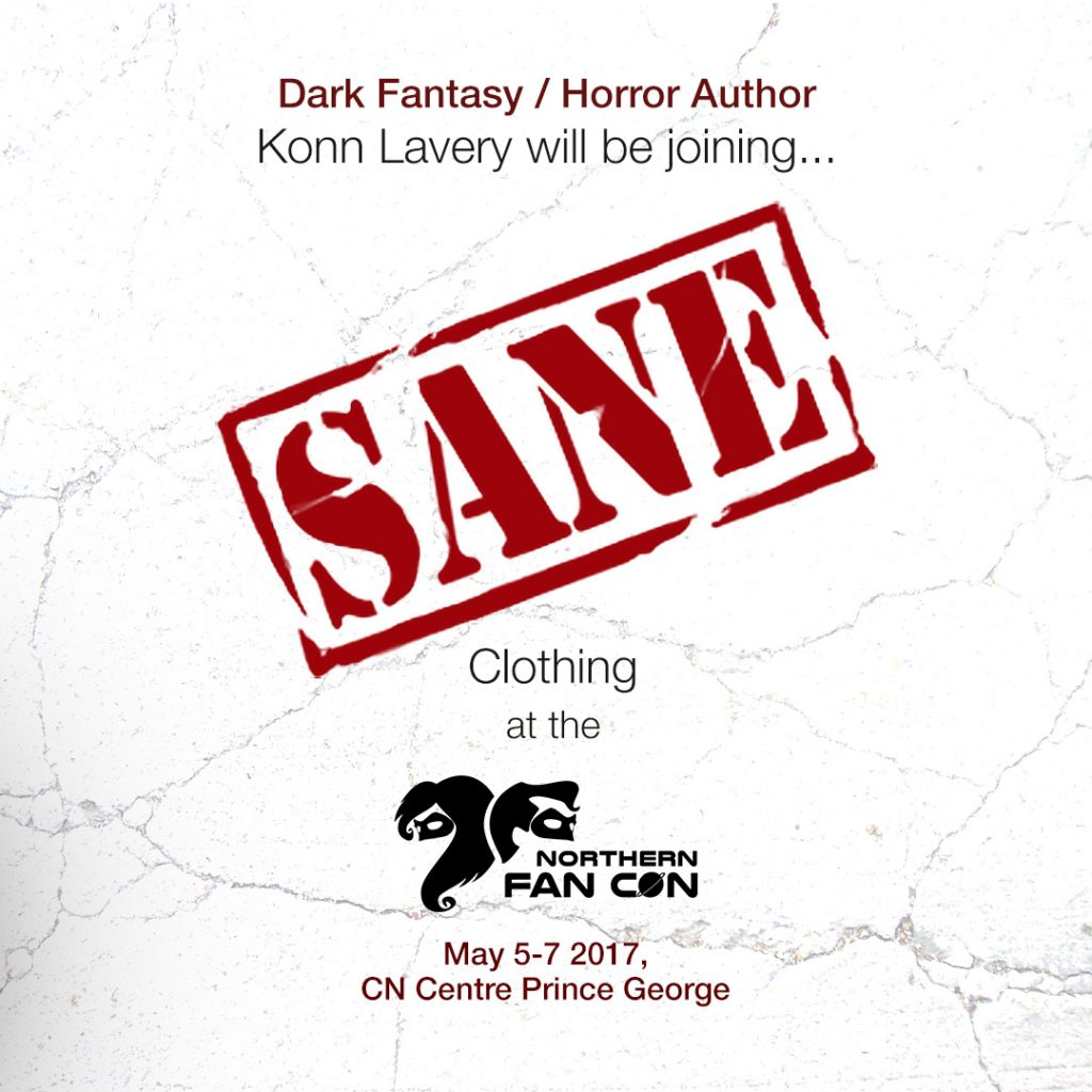Konn Lavery joining SANE Clothing for the Northern Fancon