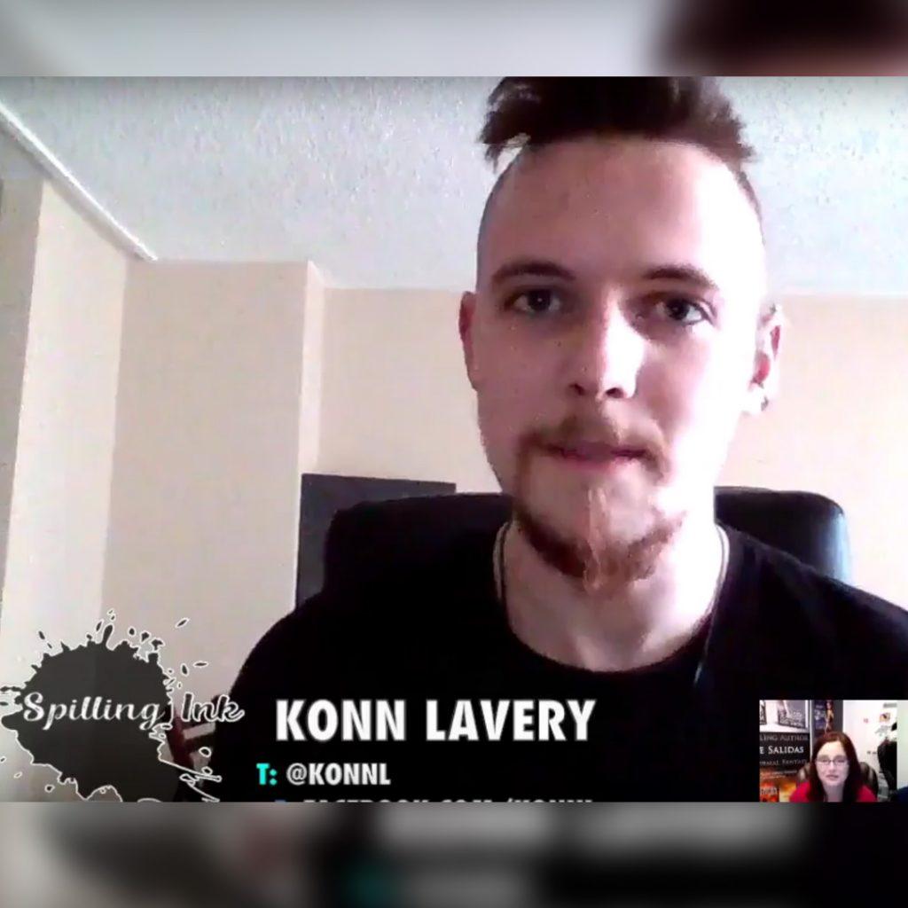 Konn Lavery on Spilling Ink