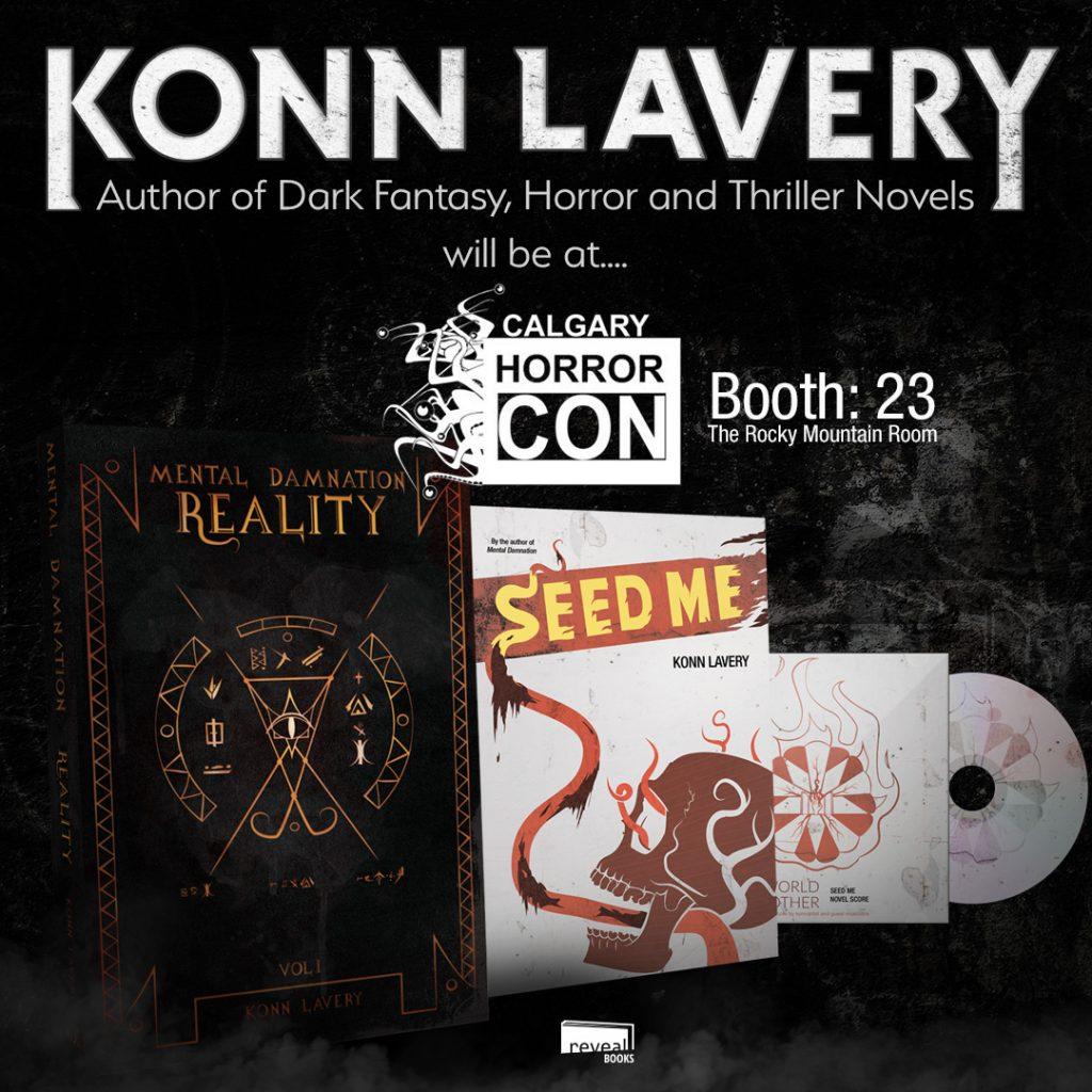 Konn Lavery at the 2017 Calgary Horror Con