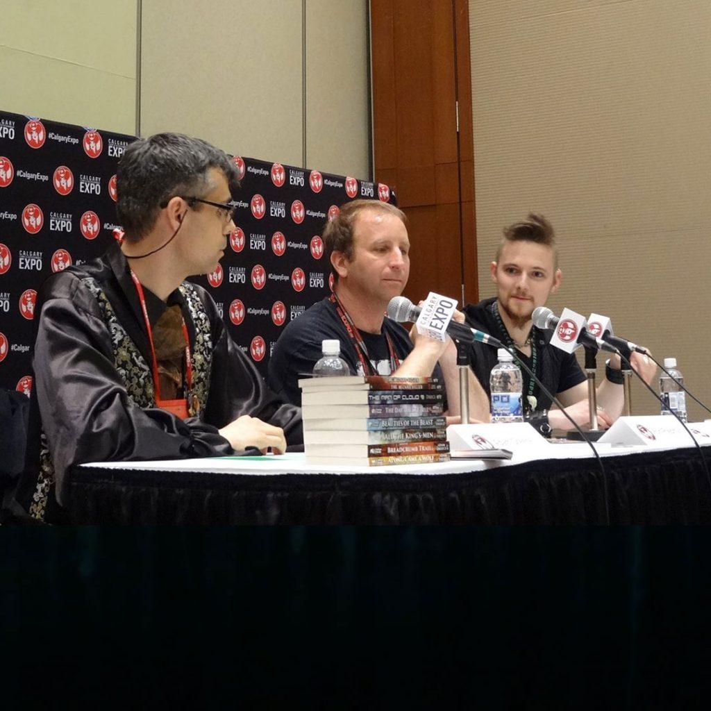 Adam Dreece, Ron S. Friedman and Konn Lavery discuss writing careers