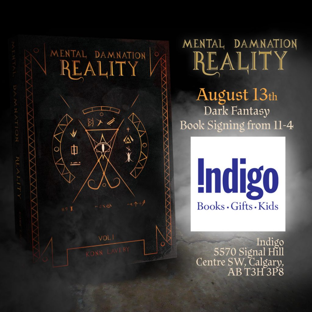 August 13 Mental Damnation: Reality Signing at Indigo Signal Hill