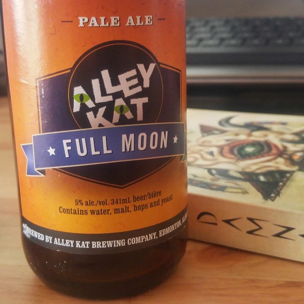 Unprocessed Thoughts 2017 June: Alley Kat Full Moon