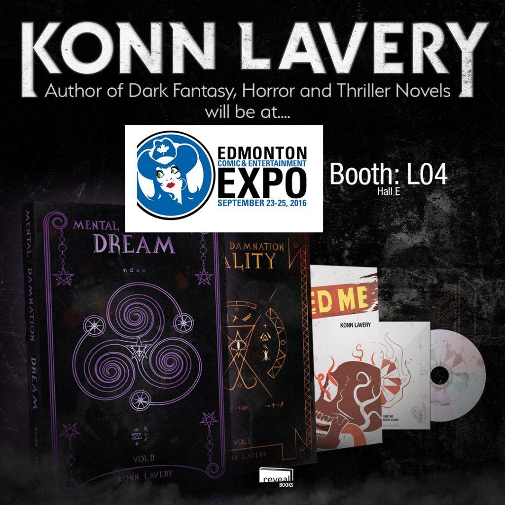 Konn Lavery at the 2017 Edmonton Comic Expo