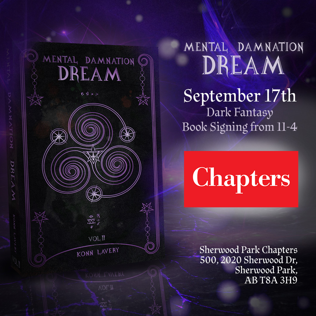 Mental Damnation: Dream Signing at Sherwood Park Chapters