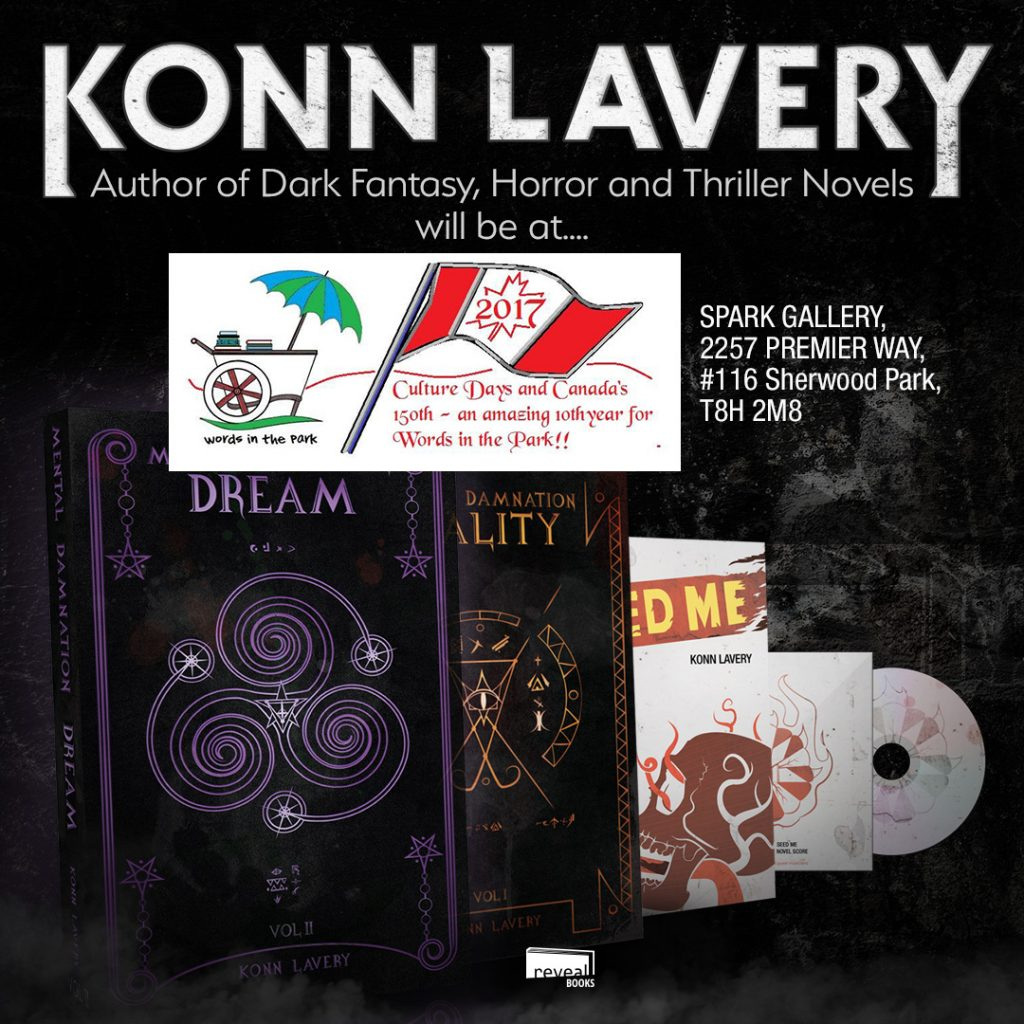 Konn Lavery at 2017 Words in the Park