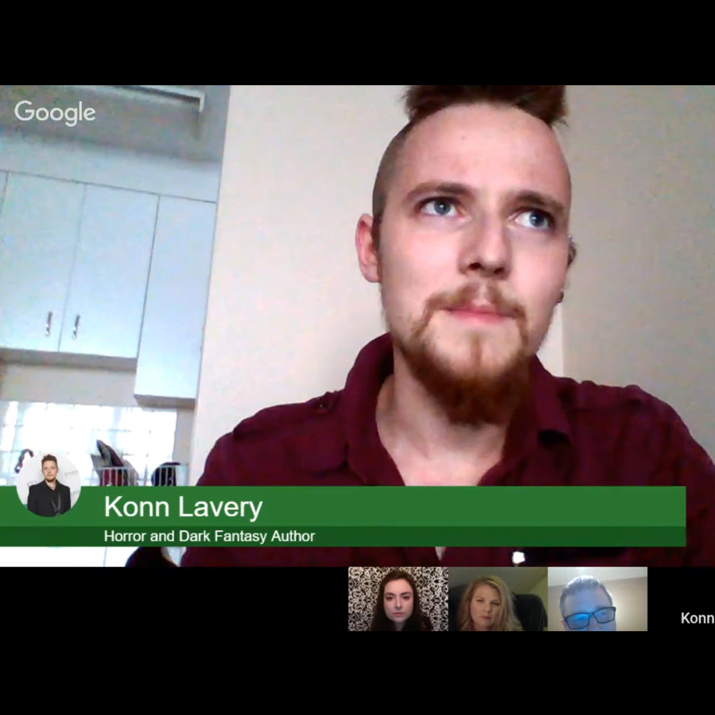 Konn Lavery on the Writing Edge Channel aout Networking for Authors