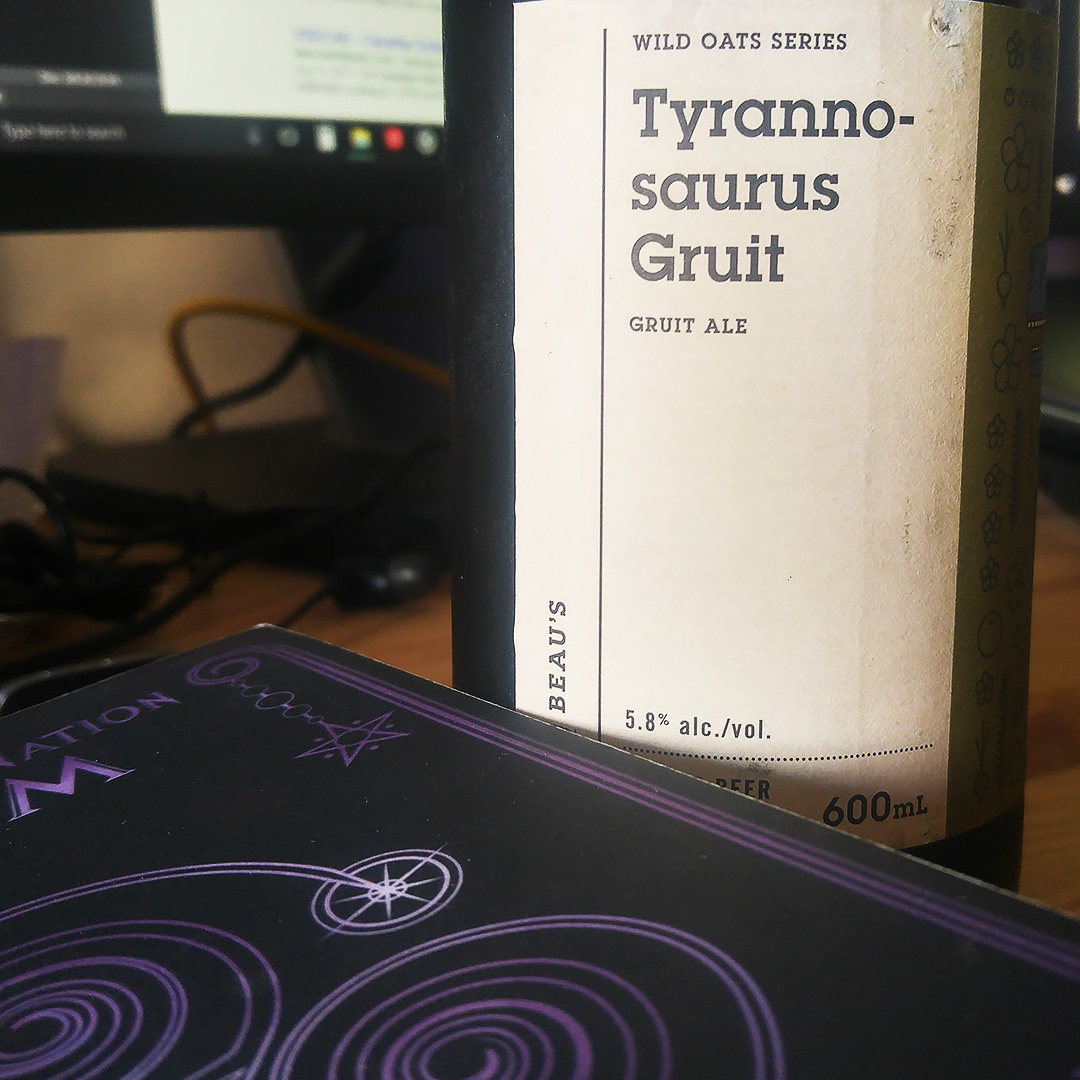 Descending Into Fall - Unprocessed Thoughts 2017 August - Tyrannosaurus Gruit