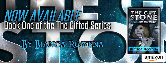 Bianca Rowena, YA author of The Gifte Stone