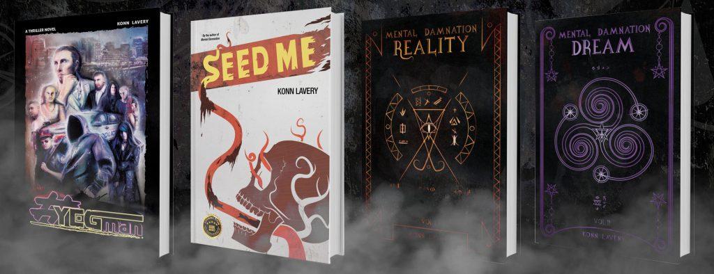 Konn Lavery's Novels