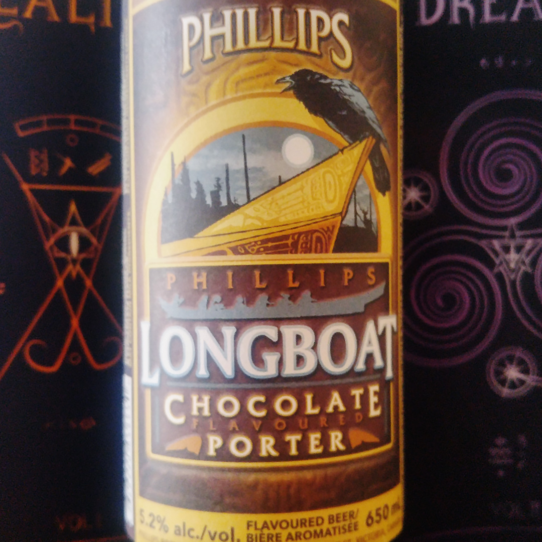 Goodbye 2017 and Hello 2018 - Beer Note: Phillips Longboat Chocolate Flavoured Porter - Unprocessed Thoughts by Konn Lavery