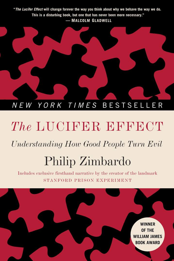 The Lucifer Effect Book by Philip Zimbardo