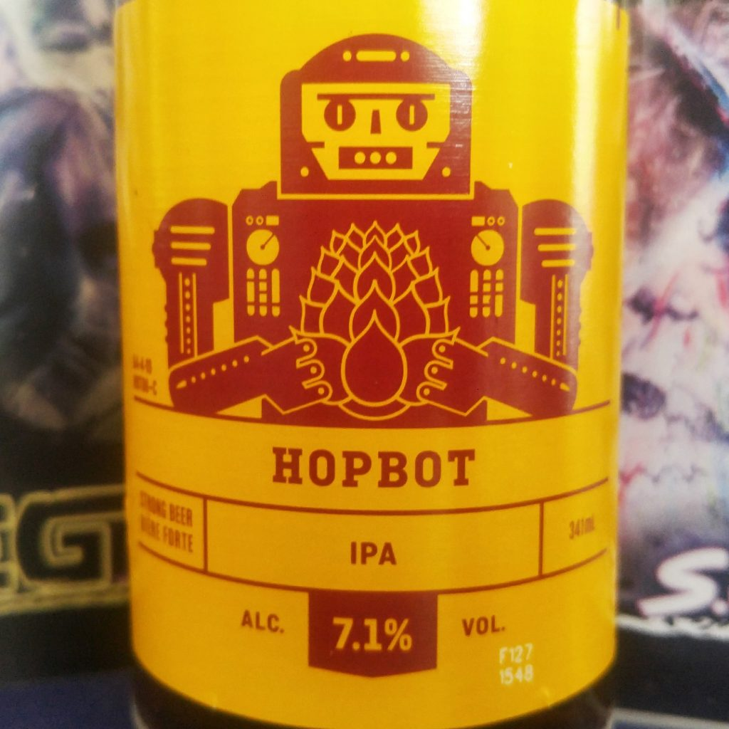 Hopbot IPA - Unprocessed Thoughts March 2018 Time Distortion