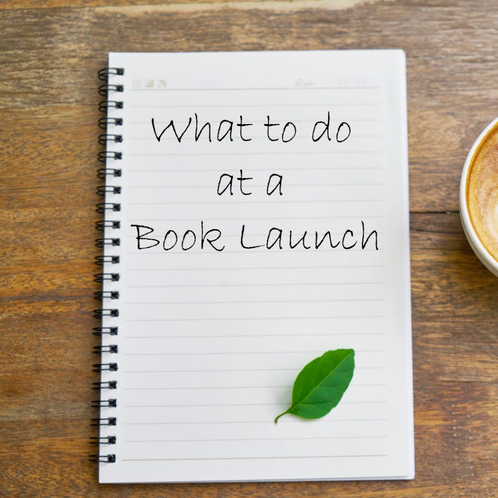 What to do at a Book Launch