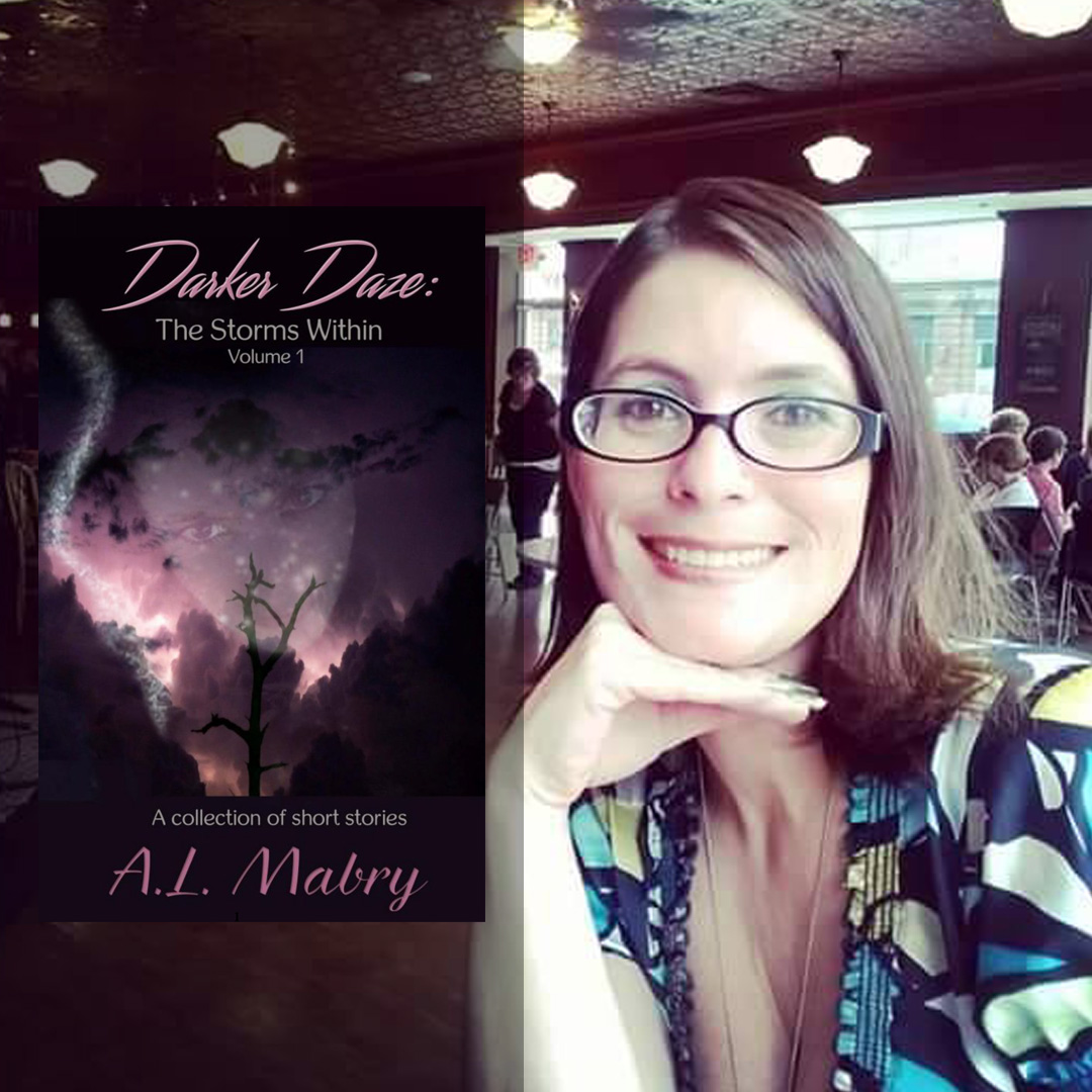 A.L. Mabry, author of Darker Daze: The Storms Within