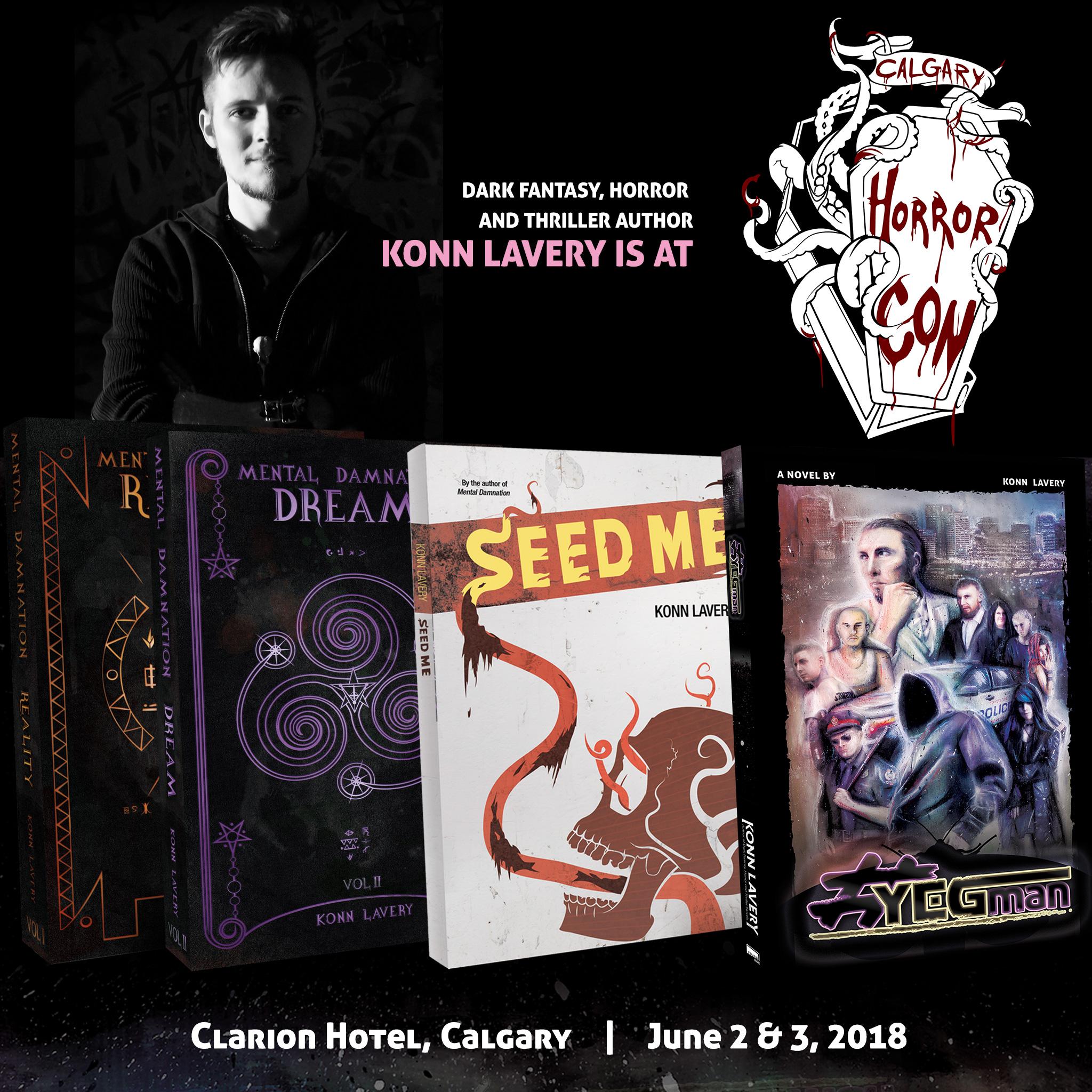 Calgary Horror Con 2018