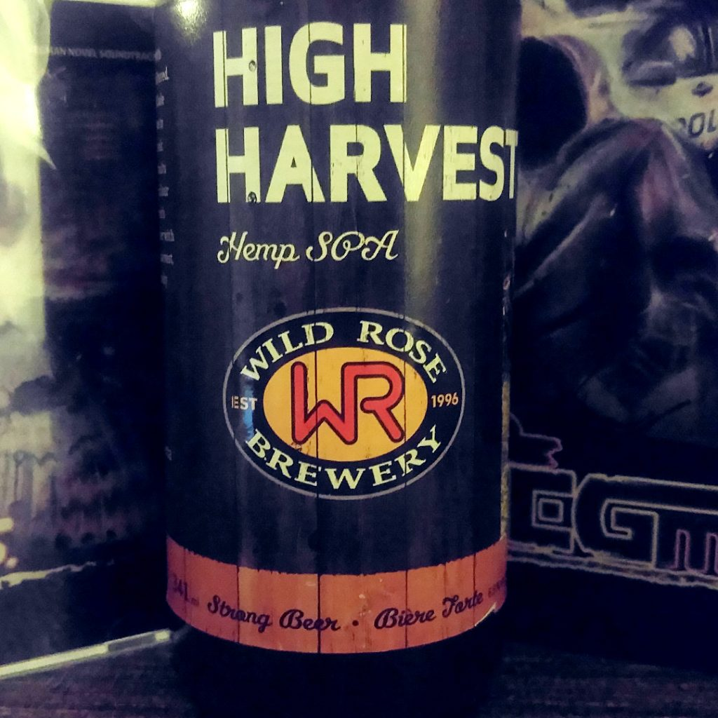 Does the Hustle Stop? Beer Note: Wild Rose Brewery High Harvest