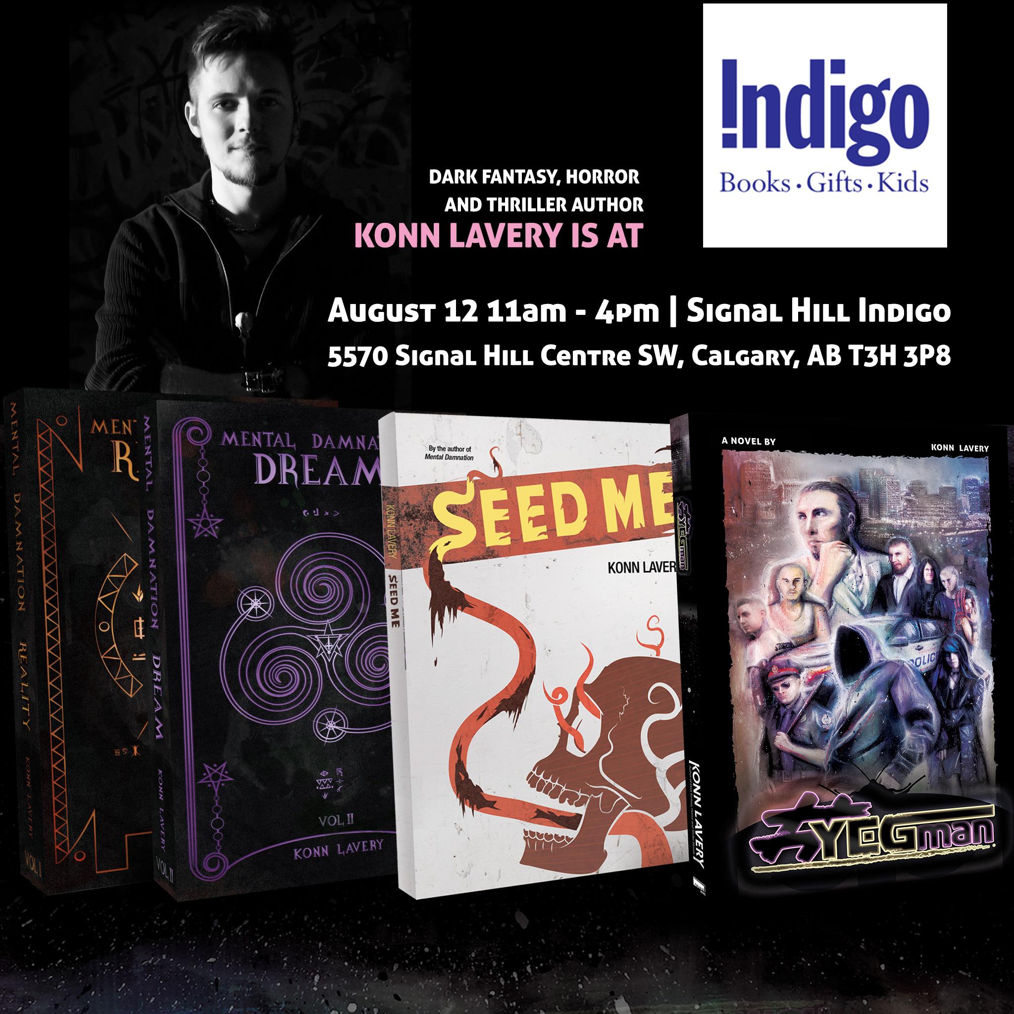 Calgary Indigo Signal Hill Book Signing
