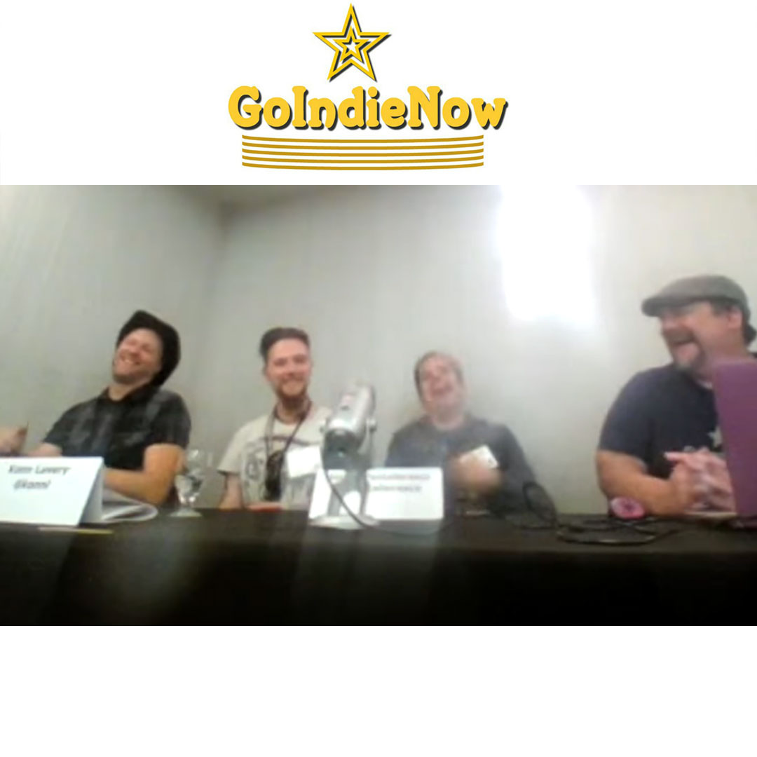 GoIndieNow's Live Panel Discussion Show at When Words Collide