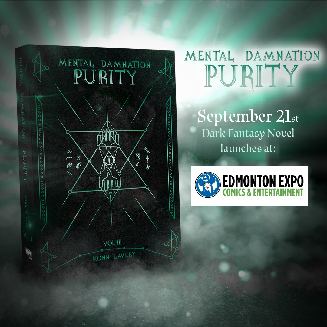 Purity Part III of Mental Damnation launches at Edmonton Comic Expo