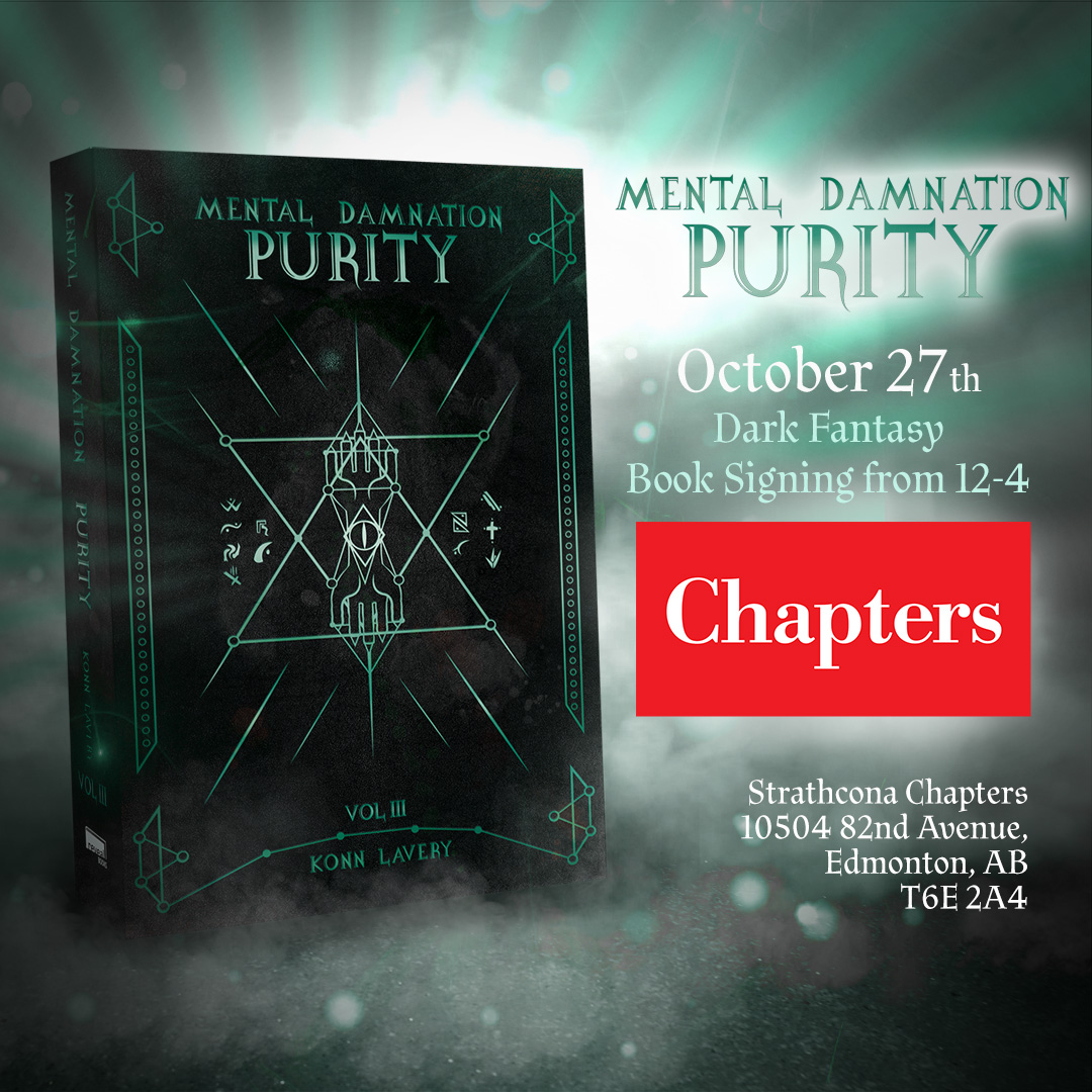 Purity Signing at Chapters Strathcona