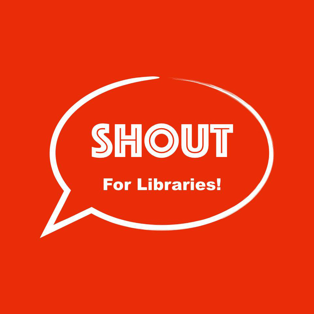 Guest on SHOUT for Libraries Podcast