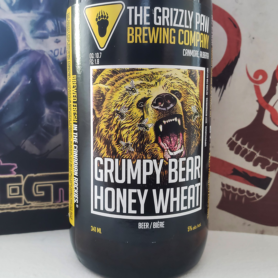 Goodbye 2018, Unprocessed Thoughts December 2018. Featuring The Grizzly Paw Brewing Company Grumpy Bear Honey Wheat