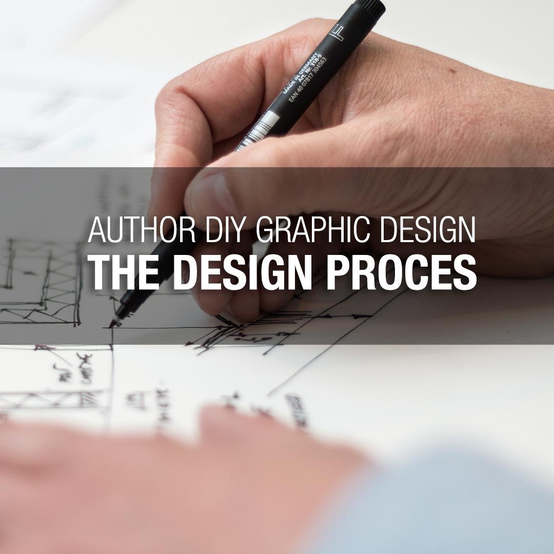 Author DIY Graphic Design – The Design Process