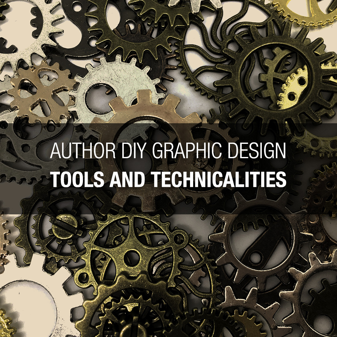 Author DIY Graphic Design – Tools and Technicalities