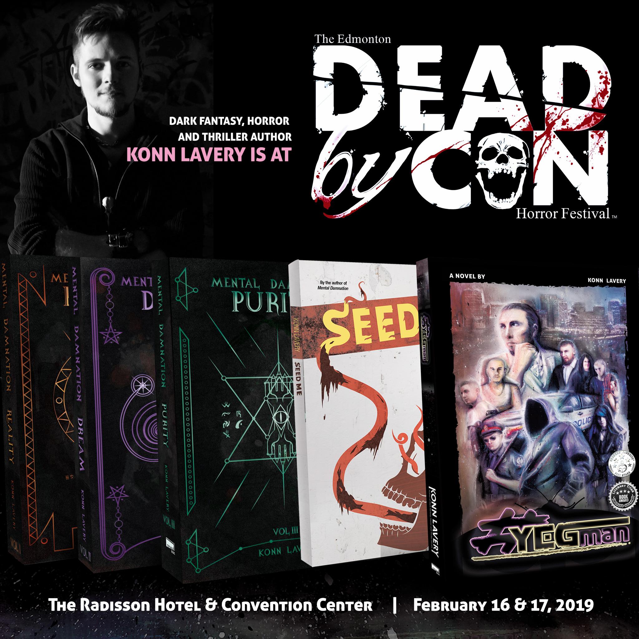 Dead By Con 2019 - Konn Lavery