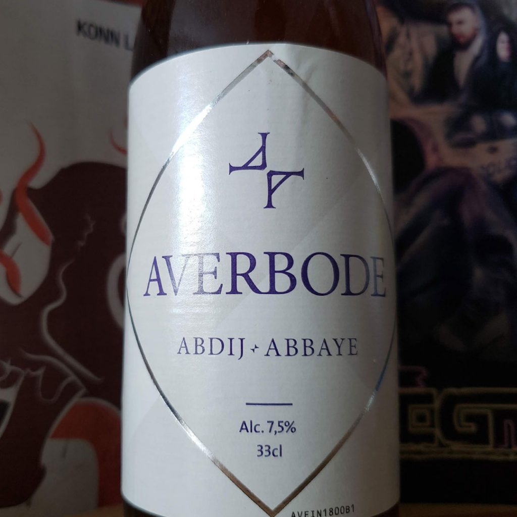 Sitting on a Manuscript - Unprocessed Thoughts January 2019. Beer Note: Abdij Averbode