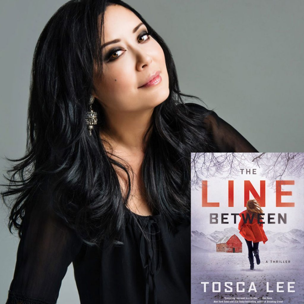 New York Times Bestselling author Tosca Lee's New Novel, The Line Between