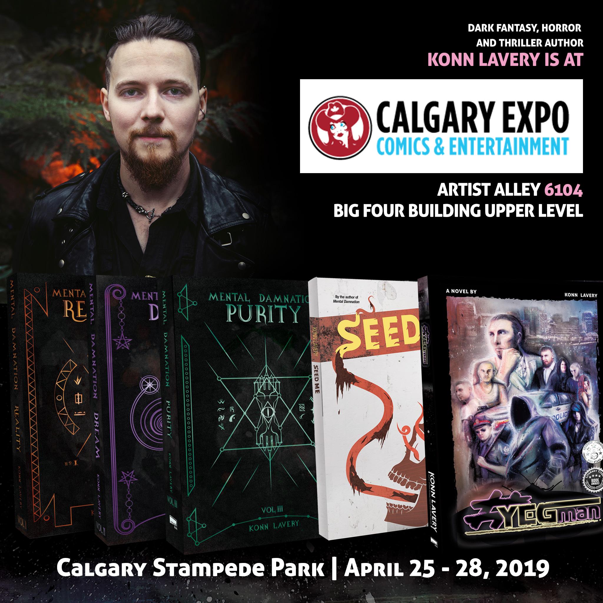 Calgary Comic Expo 2019