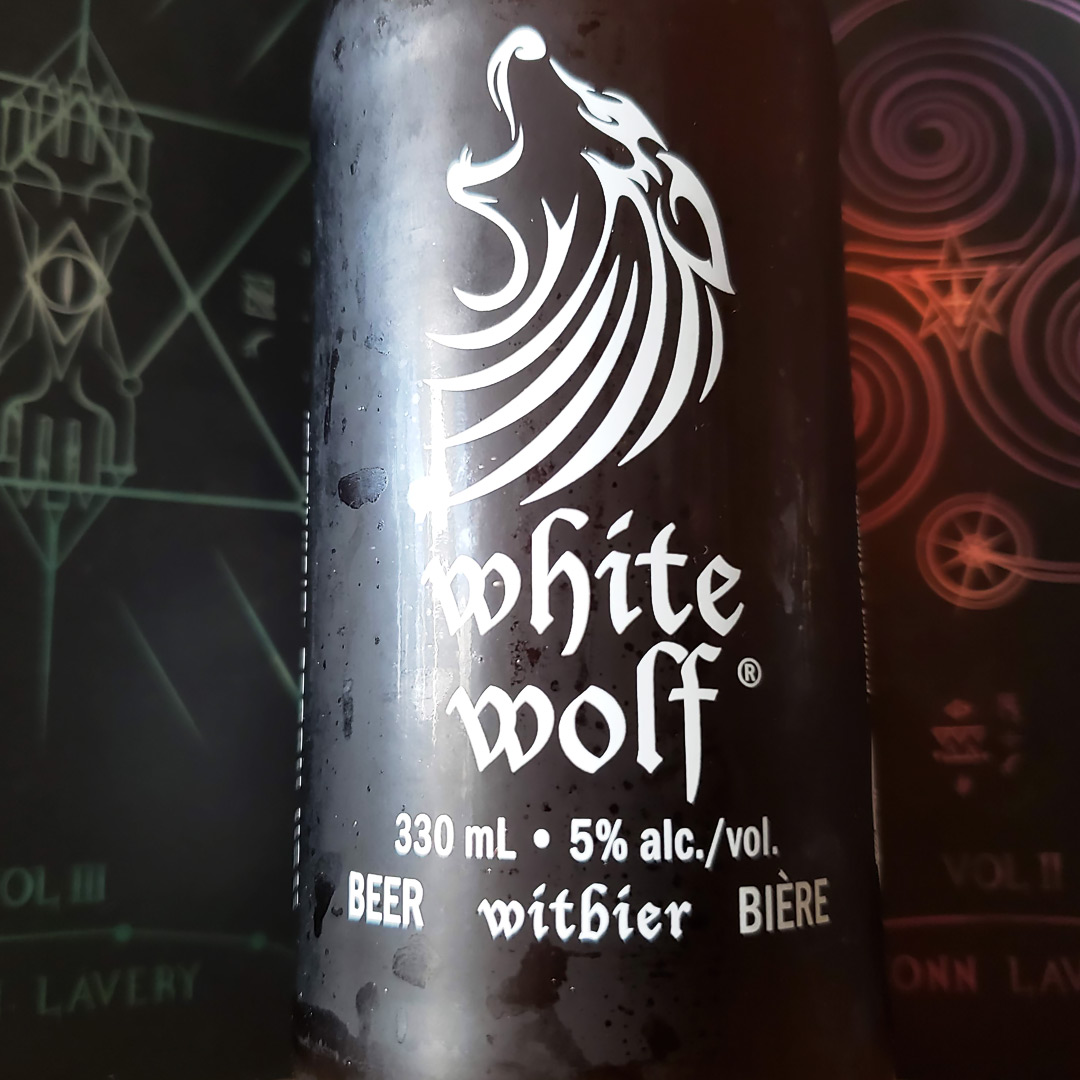 No Pain No Gain Unprocessed Thoughts February 2019 Beer Note: White Wolf Witbier