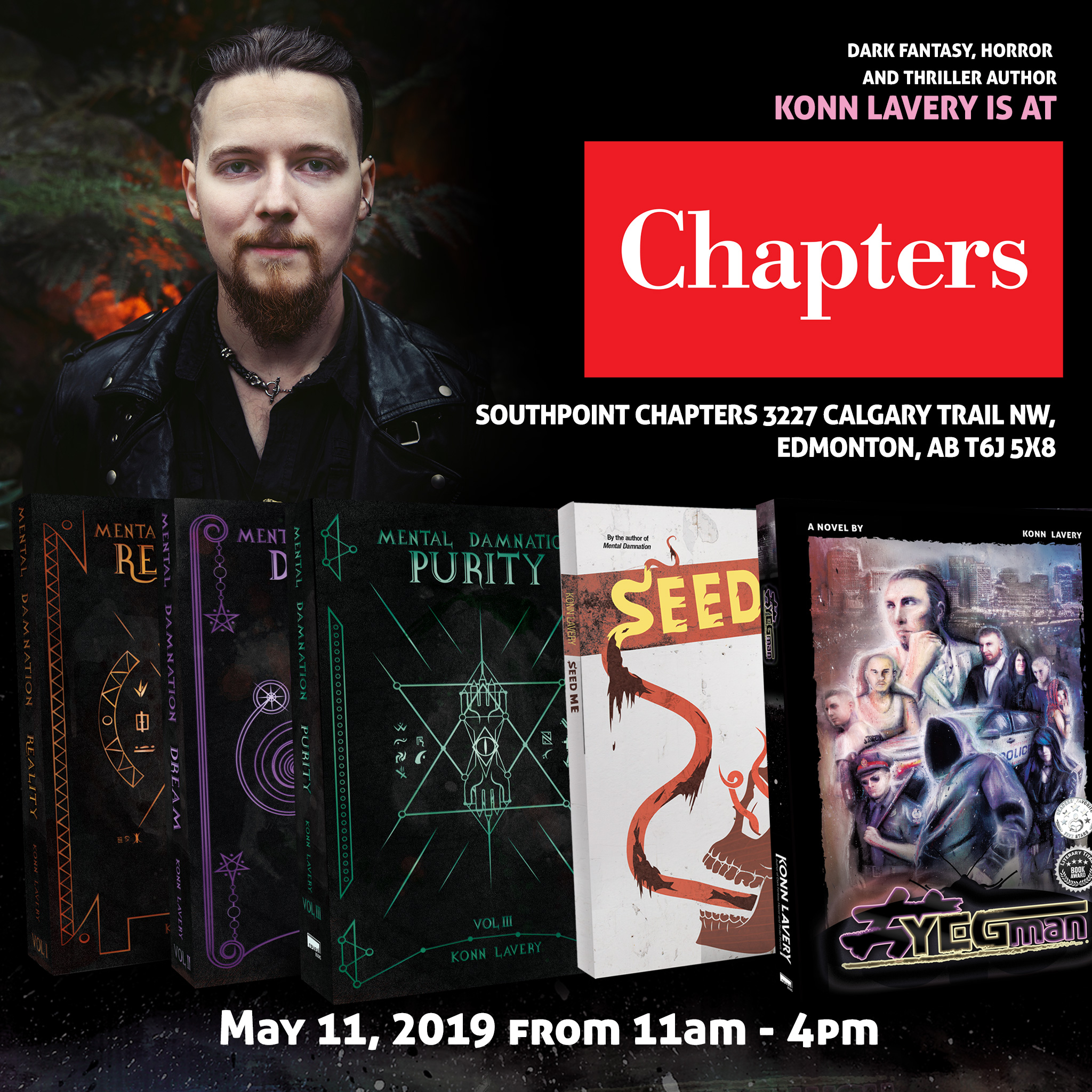 Book Signing at Southpoint Chapters