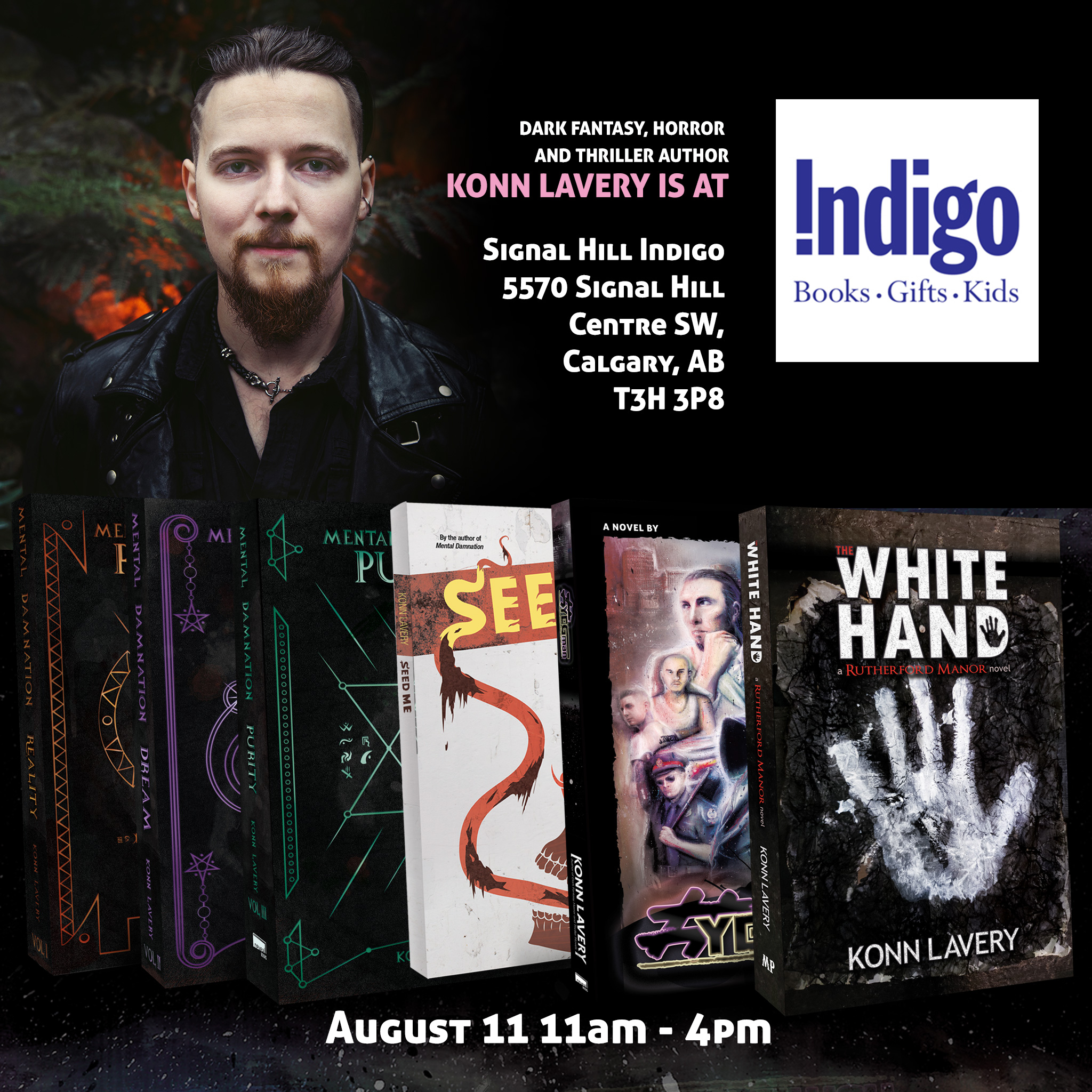 Calgary Indigo Signal Hill Book Signing 2019